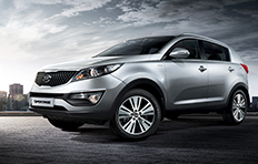 Kia Sportage EXterior Born into the modern world