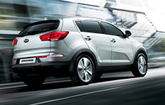 Kia Sportage EXterior Taking you where you want to go