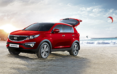 Kia Sportage EXterior Pick a destination Then let Sportage take you there