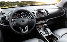 Kia Sportage Interior Welcome aboard