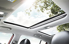 Kia Sportage Interior Panoramic sunroof