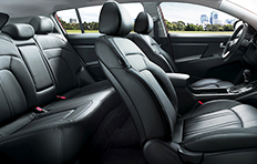 Kia Sportage Interior On the inside space