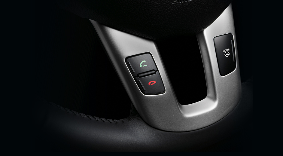 Kia Sportage Interior Bluetooth hands-free